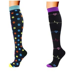 Compression Socks for Women 2 Pair